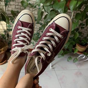 Converse Chuck Taylor All Star 紫红色低帮帆布鞋