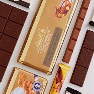 Lindt瑞士莲精选条装巧克力买3送1/买5送2促销