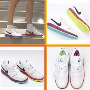 Jordan 1 Low Grades四色鸳鸯大童鞋