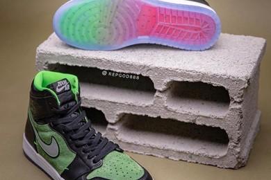 """脚感进步!Zoom Air Jordan 1 """"Rage Green"""" 也释出确切的发售讯息!"""