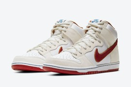 复古涂装!全新配色 Nike Dunk High 6月1日上市!