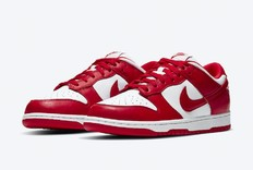 血色浪漫!大学红配色的 Nike Dunk 迎来官图!