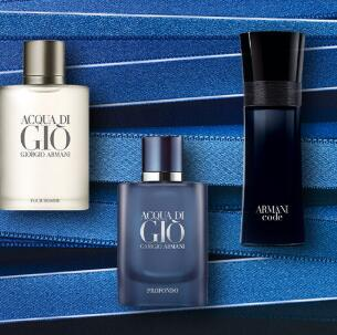Giorgio Armani阿玛尼官网父亲节精选香水等买一送一