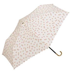 w.p.c 防晒防紫外线轻量折叠遮阳伞 粉色爱心款