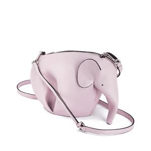 虞书欣同款降价!Loewe elephant mini 粉色小象斜跨包