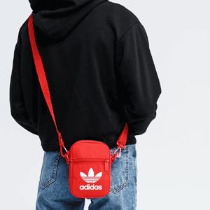 降价!adidas Originals三叶草 mini斜挎包