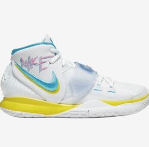 新品!Nike 耐克 Kyrie 6 大童款篮球鞋 南海岸涂鸦配色