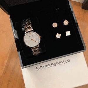 Emporio Armani安普里奥·阿玛尼lassic 系列女士腕表套盒