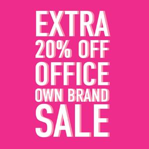 Office Shoes夏日促销低至3折+额外8折