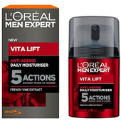 L'Oréal Paris巴黎欧莱雅 Vita Lift 5 男士锐能抗皱紧致护肤多效霜50ml