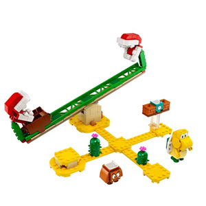 LEGO乐高超级马里奥系列吞食花翘翘板积木玩具71365