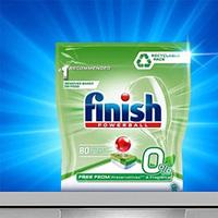 Finish 亮碟 0% 洗碗机专用洗涤块 80块