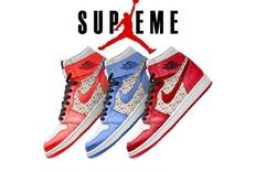 终于忍不住了!Supreme x Air Jordan 1 释出渲染图!