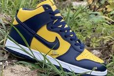 重磅复刻!密歇根 Nike Dunk High 9月上市!