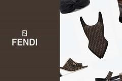 Fendi 经典印花凉鞋,低调高级感让无数女生收藏