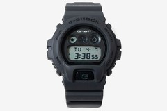 Carhartt WIP和G-SHOCK携手推出DW-6900全哑光黑色