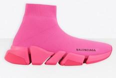 Balenciaga 霓虹袜式运动鞋