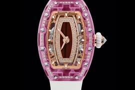 RICHARD MILLE 理查德米尔全新粉色蓝宝石表壳腕表