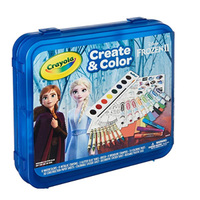 Crayola绘儿乐冰雪奇缘2 Create & Color 创意涂色礼盒套装