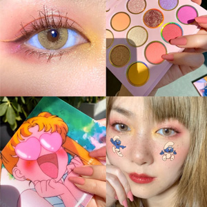 ColourPop X Sailor Moon 水冰月合作眼影盘