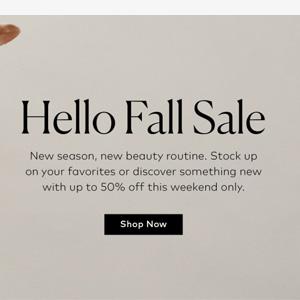 Beautylish季末精选人气彩妆低至5折/买一送一促销