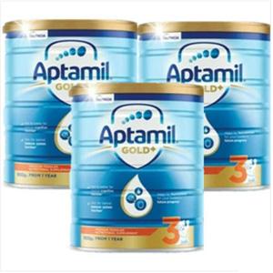 Aptamil爱他美 金装婴幼儿奶粉 3段 900g*3罐装 最新包装