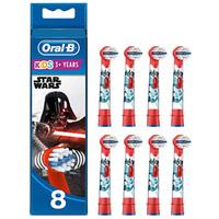 Oral-B欧乐B 电动牙刷头8支 星际大战款