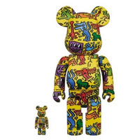 BE@RBRICK  Keith Haring凯斯哈林 5代  100%和400%2个装套组