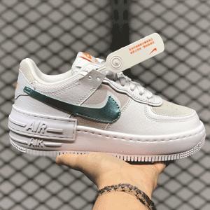 Nike Air Force 1 Shadow白蓝色女士运动鞋