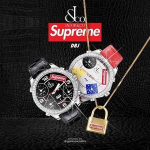 腕表   Supreme x Jacob & Co. 联名腕表 10月24日上市