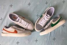 化繁为简!sacai x Nike Blazer Low 实物完整曝光!