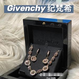 Givenchy纪梵希女款项链+耳环套装 四色