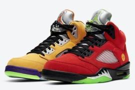 """发售推迟!Air Jordan 5 """"What The"""" 下个月登场!"""