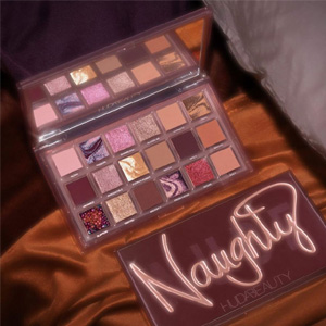 Huda Beauty 反转玫瑰18色眼影盘 Naughty Nude