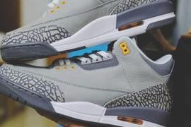 """超级耐看!Air Jordan 3 """"Cool Grey""""明年复刻!"""
