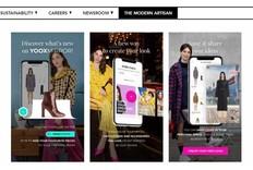 电商|欧洲时尚电商Yoox升级虚拟试衣app