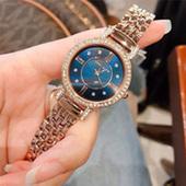 Anne Klein安妮·克莱因 AK/2928NVRG 施华洛世奇水晶玫瑰金手镯手表