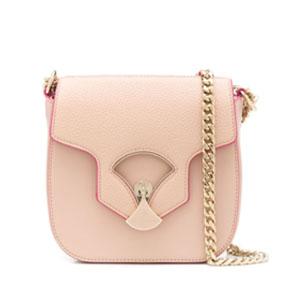 浅粉色斜挎包