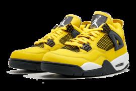 新鞋   Air Jordan 4 Lightning 2021年8月7日上市