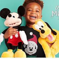 shopDisney迪士尼官网精选毛绒玩具低至6折+满额最高75折