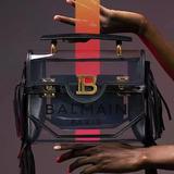将西装剪裁与包袋相结合的Balmain B-BUZZ系列
