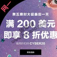 Shopbop官网网一精选商品满$200享8折