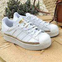 Adidas Originals Superstar 独家绳索运动鞋 女款