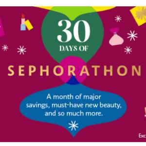 Sephora丝芙兰12月促销计划