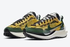 潮鞋 市价飞起!Sacai x Nike VaporWaffle 黄绿、红棕配色官图释出!