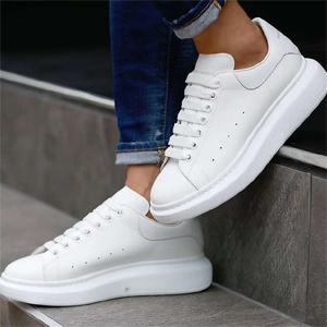 SSENSE多款ALEXANDER MCQUEEN小白鞋低至42折促销