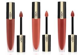 新品 巴黎欧莱雅推出Rouge Signature哑光唇釉