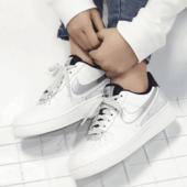降价!Nike AIR FORCE 1 '07 SE 3M局部反光女款板鞋