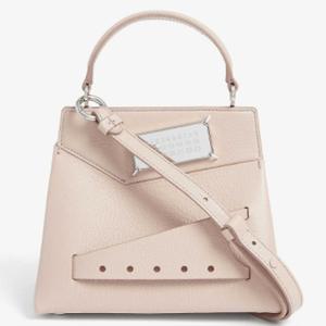 樱花粉手提包