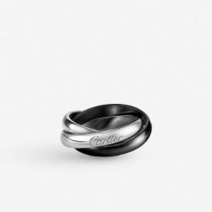 黑色陶瓷戒指